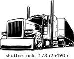 American Semi Trailer Truck...