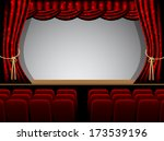 theater stage couple minutes... | Shutterstock .eps vector #173539196