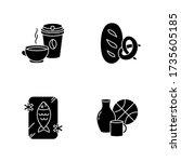foods and goods black glyph...   Shutterstock .eps vector #1735605185