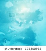 soft colored abstract...   Shutterstock .eps vector #173560988