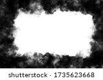 Dark Black Smoke Frame White...