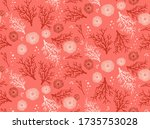 Seamless Living Coral Pattern....