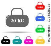 cargo of 20 kilograms multi...