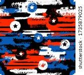 abstract seamless grunge... | Shutterstock .eps vector #1735879025