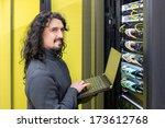young engeneer professional... | Shutterstock . vector #173612768
