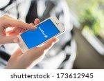 hilversum  netherlands  ... | Shutterstock . vector #173612945
