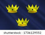 flag of the munster is one of... | Shutterstock . vector #1736129552