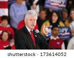 madison  wi feb. 14 president... | Shutterstock . vector #173614052
