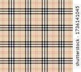 tartan plaid. scottish pattern... | Shutterstock .eps vector #1736141045
