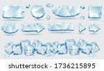 vector ice frames collections...