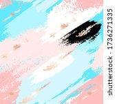 vector seamless pattern.... | Shutterstock .eps vector #1736271335