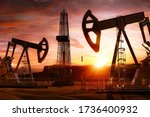 oil gas exploring  production... | Shutterstock . vector #1736400932