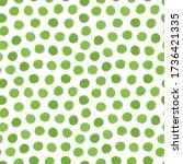 green peas vector seamless... | Shutterstock .eps vector #1736421335