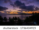 Sunset At Coral Coast Fiji...