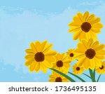 Dune Sunflowers Reaching...