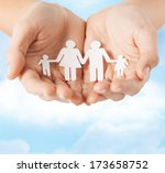 family and relations concept  ... | Shutterstock . vector #173658752