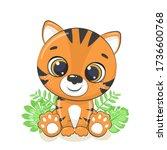 Cute Baby Tiger Illustration....