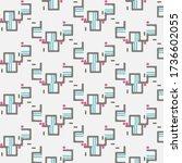 abstract background texture....   Shutterstock . vector #1736602055