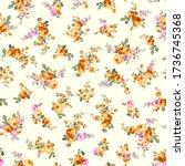 seamless vector pattern of a... | Shutterstock .eps vector #1736745368
