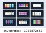 vector pricing plan banners...