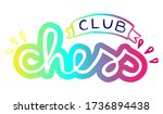 chess club colorful funny logo. ...   Shutterstock .eps vector #1736894438