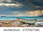 Coastal Landscape After Storm ...