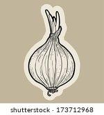 onion cartoon vector.