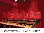 Basketball Arcade Machine...