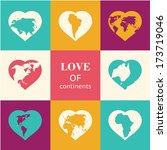 Heart World   Love  Vector...