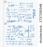 physical equations  diagrams... | Shutterstock .eps vector #1737200348