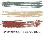 vintage watercolor brush...   Shutterstock .eps vector #1737201878