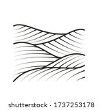 vineyard vector illustration... | Shutterstock .eps vector #1737253178