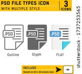 psd file types premium icon...