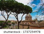 View Of Rome From The...