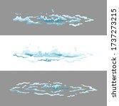 sprite water splash animation....