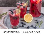 Fresh Blueberry Summer Mojito...