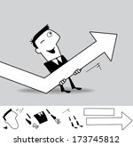 effective management. business... | Shutterstock .eps vector #173745812