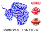 vector handmade composition of...   Shutterstock .eps vector #1737549242