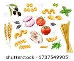 vector traditional italian... | Shutterstock .eps vector #1737549905