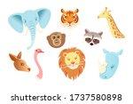 Cartoon Character Animals Mask...