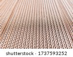 Detail Of A Corrugated...