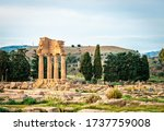 The Ruins Of The Temple Of The...