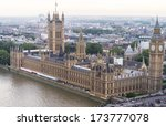 Aerial View Of Westminster ...