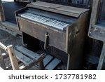 Old Organ At Old School.