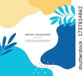 colourful memphis bright...   Shutterstock .eps vector #1737814862
