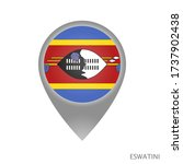 map pointer with flag of... | Shutterstock .eps vector #1737902438