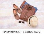 Men\'s Fashion Brown Leather...