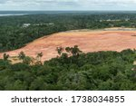 View To Deforested Area On...