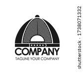 back hat logo design. vector | Shutterstock .eps vector #1738071332