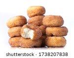 Cinnamon Sugar Mini Donuts In A ...